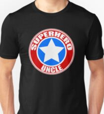 Superhero Uncle Unisex T-Shirt