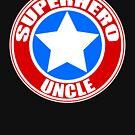 Superheld Onkel von JCDesignsUK