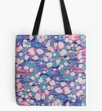 Hip Hop Love Psychedelic Purple Marble Paper Surf Pepe Psyche Tote Bag