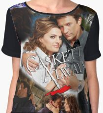 Caskett Always Women's Chiffon Top