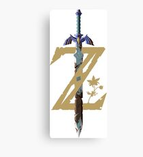 The Legend of Zelda: Breath of the Wild Z Canvas Print