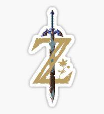 The Legend of Zelda: Breath of the Wild Z Sticker