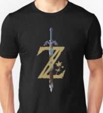 The Legend of Zelda: Breath of the Wild Z Unisex T-Shirt