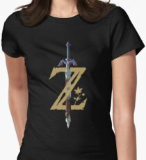 The Legend of Zelda: Breath of the Wild Z Women's Fitted T-Shirt