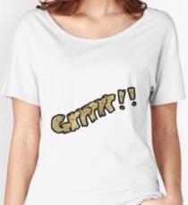 cartoon comic book growl Women's Relaxed Fit T-Shirt