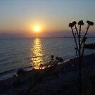 Sea Sunset by GabbySunlight