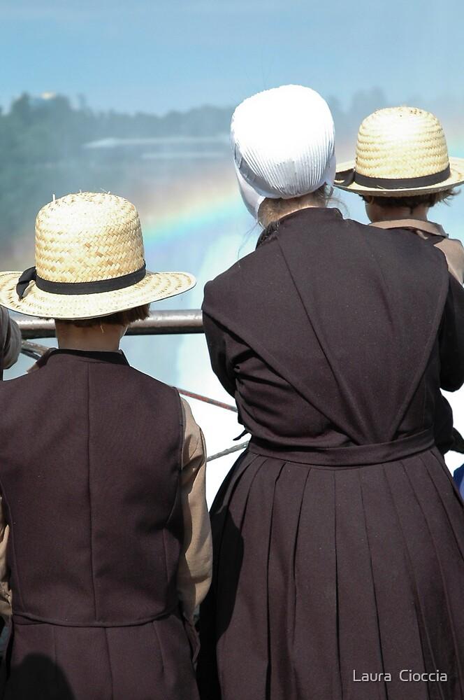 Rainbow watchers by Laura  Cioccia