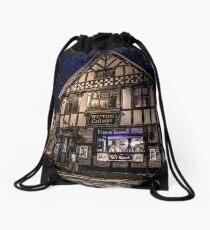 Northwich at night 14 Drawstring Bag