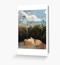 Moody Water Greeting Card