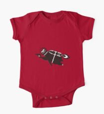 Outer space sloth rocket ray gun One Piece - Short Sleeve