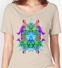 Psychedelic Trance inspired Women's Relaxed Fit T-Shirt
