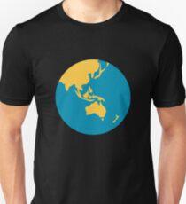 Earth globe Asia-Australia Unisex T-Shirt