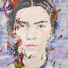EMILY DICKINSON - oil portrait by lautir