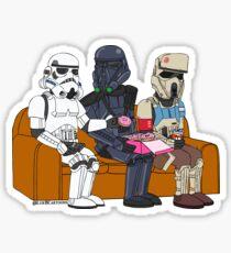 Trooper Couch Sticker