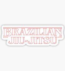 Brazilian Jiu-Jitsu - Weirder Things (BJJ) Sticker