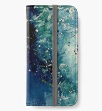 Ondine, featured in Painters Universe, Art Universe, Oil Painting Group iPhone Wallet/Case/Skin