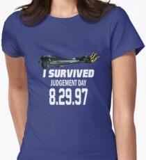 I Survived Judgement Day Terminator white T-Shirt