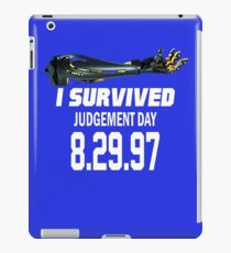 I Survived Judgement Day Terminator white iPad Case/Skin