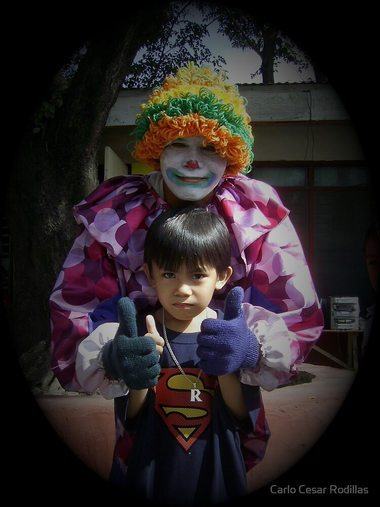 SuperBoy and SuperClown by Carlo Cesar Rodillas