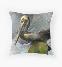 Pelecanus Occidentalis 1 Throw Pillow