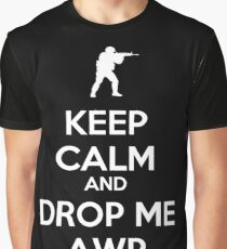 Counter Strike keep calm awp Graphic T-Shirt