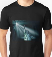 Statue of Liberty in the Spotlight T-Shirt