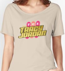 TGS with Tracy Jordan : Inspired By 30 Rock Women's Relaxed Fit T-Shirt