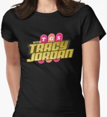 TGS with Tracy Jordan : Inspired By 30 Rock Women's Fitted T-Shirt