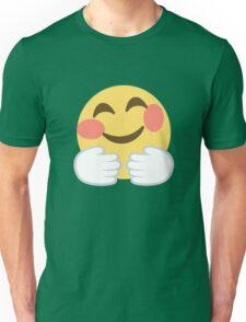 Hugging face Unisex T-Shirt