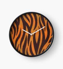Feral Tiger - Stripy Skin Clock