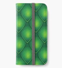 Green Dragon Scale iPhone Wallet