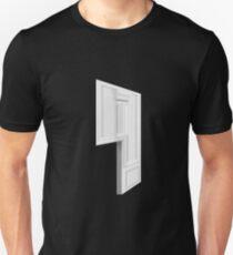 Glitch Homes Wallpaper whitepillar molding left divide T-Shirt