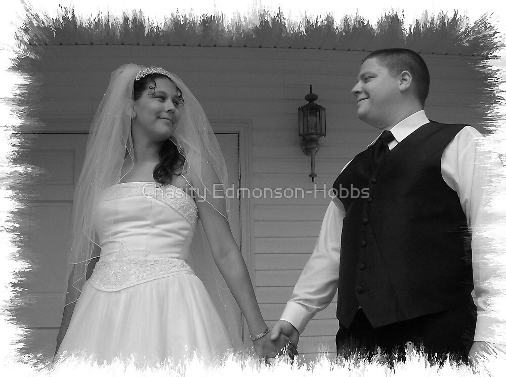 Happy Together in black & white by Chasity Edmonson-Hobbs