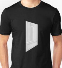 Glitch Homes Wallpaper whitepillar molding left T-Shirt