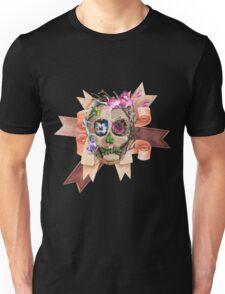 Skull and Ribbons Unisex T-Shirt