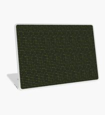 Binary Matrix Laptop Skin