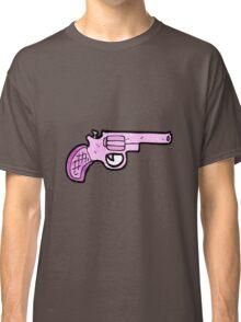 cartoon pink pistol Classic T-Shirt