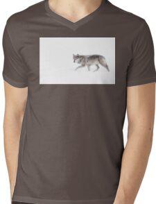Black Wolf  Mens V-Neck T-Shirt