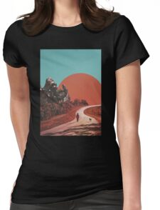 The Walk Womens Fitted T-Shirt