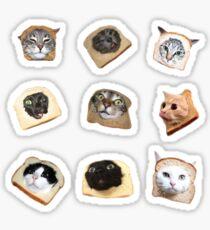 Bread Kitties Sticker