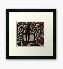 Cabled Reality Framed Print