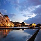 The Louvre at dusk :: Paris by miagator
