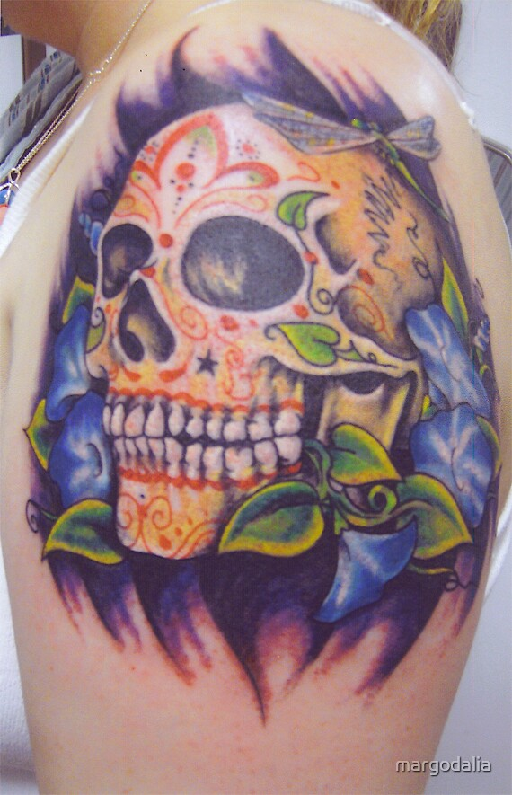 sugar skull by margodalia