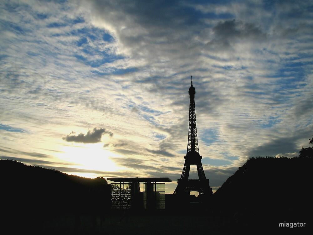 An Eiffel Tower Sunset :: Paris by miagator
