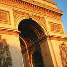 Golden Hour and the Arc de Triomphe :: Paris by miagator