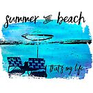 Graphic Art Summer & Beach by Melanie Viola