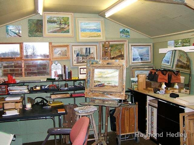 Studio at Bramling Oast West Malling Kent U.K. by Raymond  Hedley