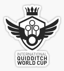 International Quidditch World Cup Sticker