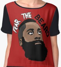 James Harden: Fear the beard  Chiffon Top