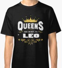 Born as Leo T-shirt Classic T-Shirt
